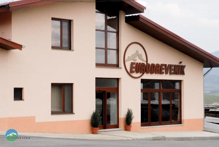 Sídlo spoločnosti Eurodreveník s.r.o